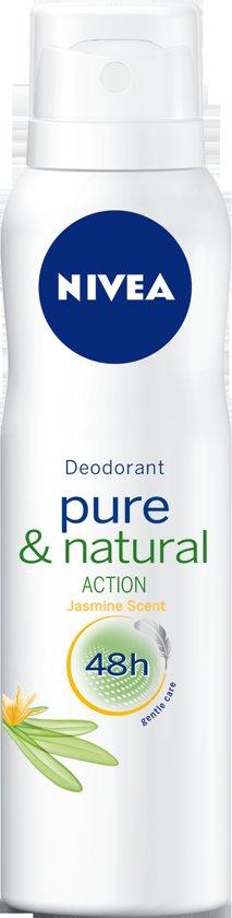 NIVEA Pure & Natural Jasmine Spray