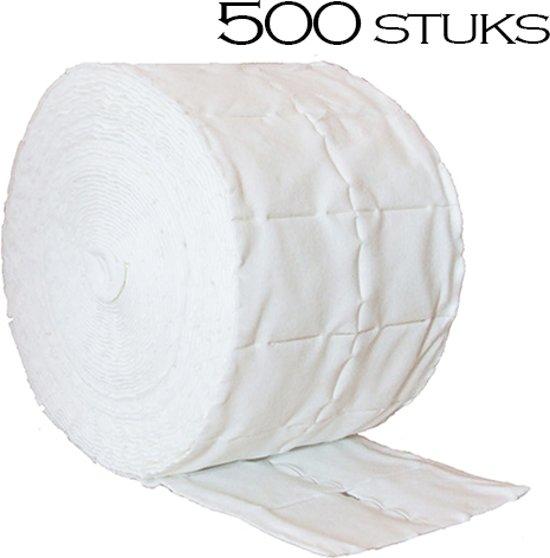 Celstof doekjes / celstof deppers 500 stuks, pluisvrij! Ook voor voor het verwijderen van de gel lak / gellak / gelpolish / shellac / gelnagellak, nagellak, reinigen van de penselen, kwasten, vijlen, desinfecteren van de nagels.