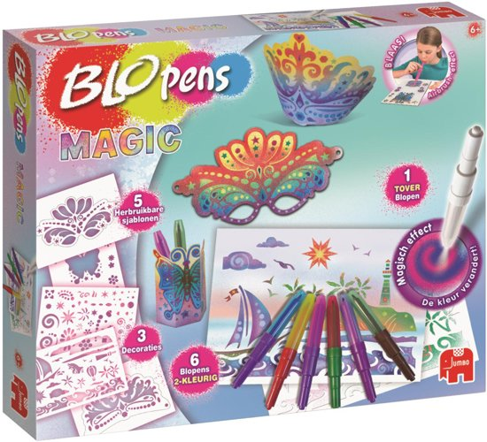 Blopens Workshop Magic Knutselpakket met Blaasstiften