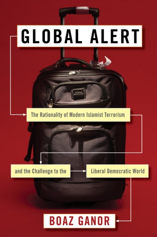Boek cover Global Alert van Boaz Ganor (Hardcover)