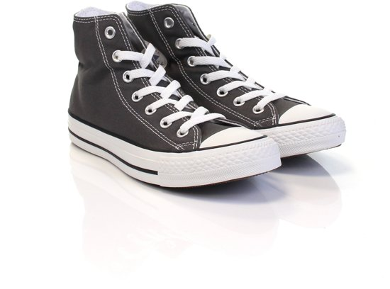 abf608c2bcc Converse Chuck Taylor All Star Sneakers Hoog Unisex - Charcoal - Maat 42.5