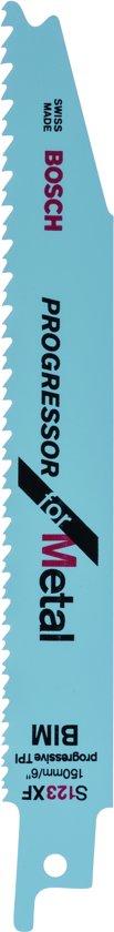 Bosch - Reciprozaagblad bimetaal, S 123 XF Progressor for Metal