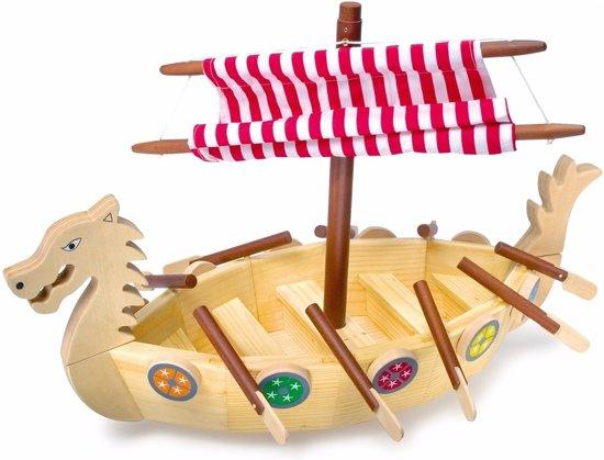 Houten Viking schip