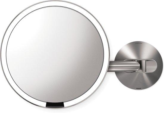 bol.com | simplehuman ST3002 Zilver make-upspiegel