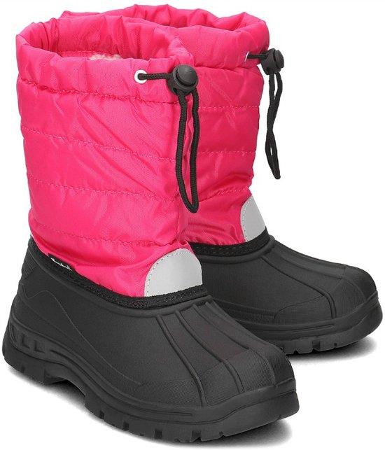 Playshoes Winterlaarzen met trekkoord Kinderen - Roze - Maat 28-29