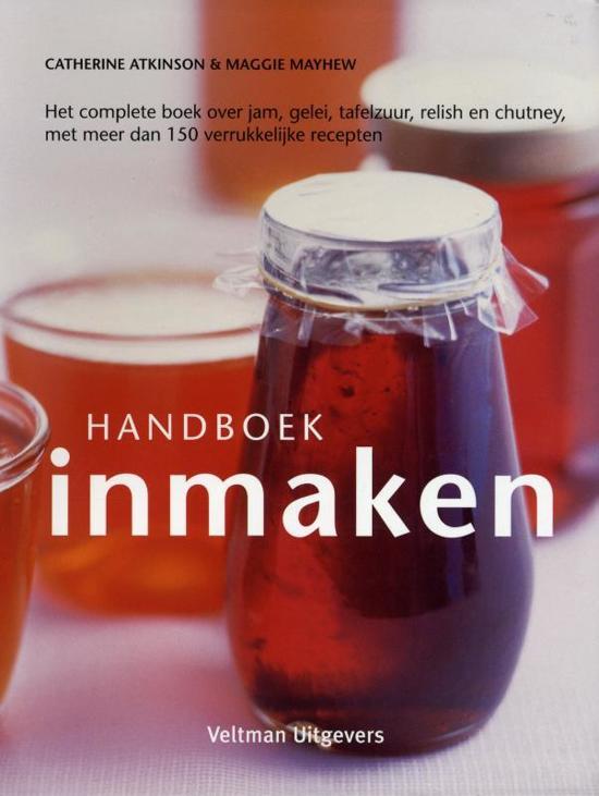 Boek cover Handboek Inmaken van Catherine Atkinson (Hardcover)
