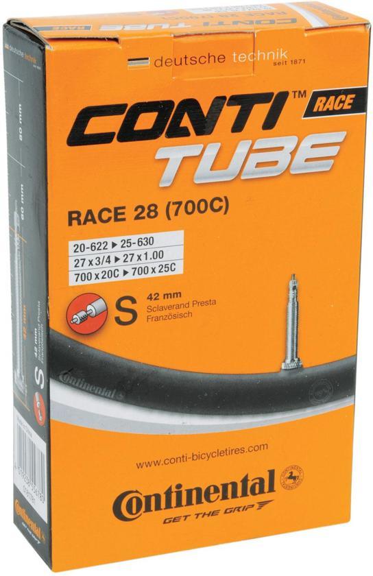 Continental Race 28 - Binnenband - 20/25 - 622/630 - 700 x 20/25 - Frans Ventiel - 42 mm