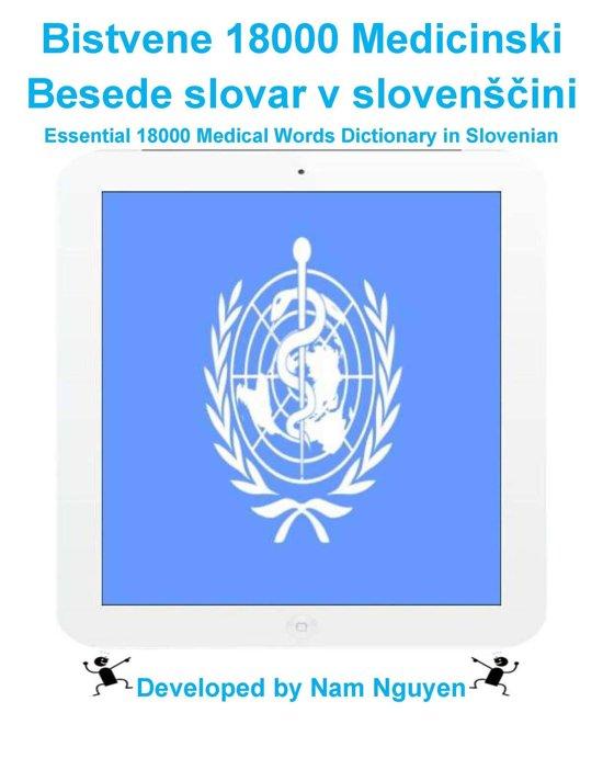 Bistvene 18000 Medicinski Besede slovar v slovenščini