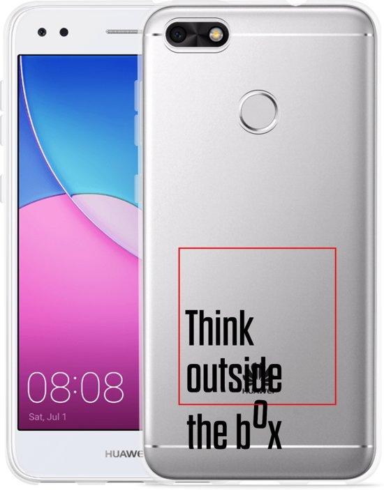 Huawei Y6 Pro 2017 Hoesje Think outside the Box