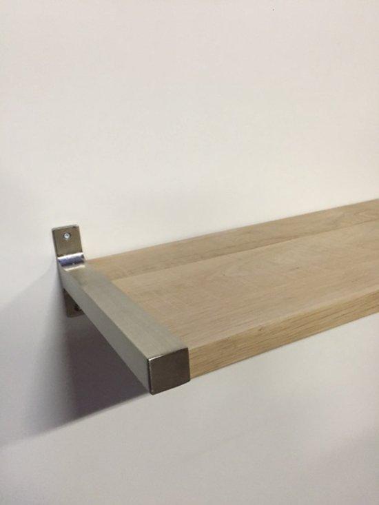 Gamma Witte Planken.Zwevende Plank Elegant Zwevende Houten Wandplank Boekenplank