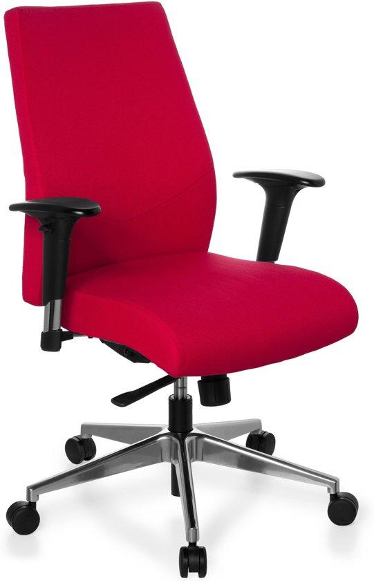 Bureau Stoel Rood.Bol Com Hjh Office Pro Tec 250 Bureaustoel Rood