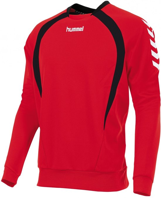 hummel Team Top Round Neck Junior Sporttrui - Rood - Maat 128