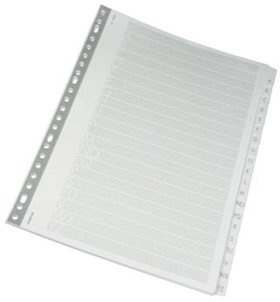 Class'ex tabbladen set A-Z 23-gaats perforatie karton
