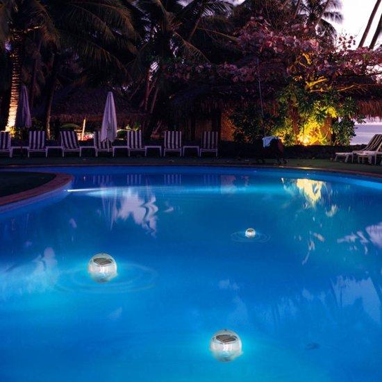 Solar Bollen Vijver.Drijvende Solar Zwembadlamp Vijverlamp Led 1 Stuk