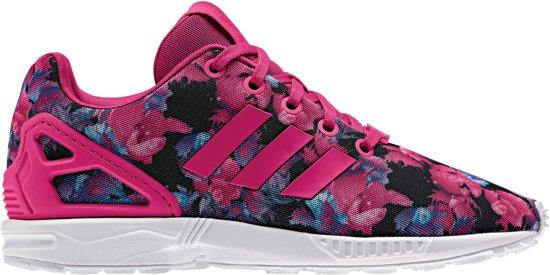 adidas zx flux zwart roze