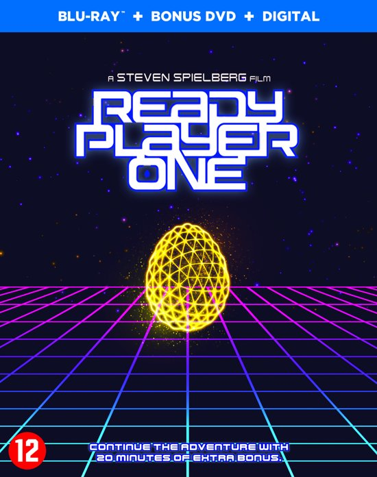 DVD cover van Ready Player One (Blu-ray+dvd) (Special Edition Amaray)