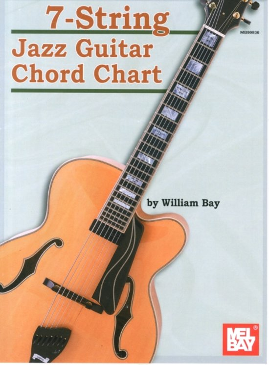 Bol 7 String Jazz Guitar Chord Chart 9780786667093 William