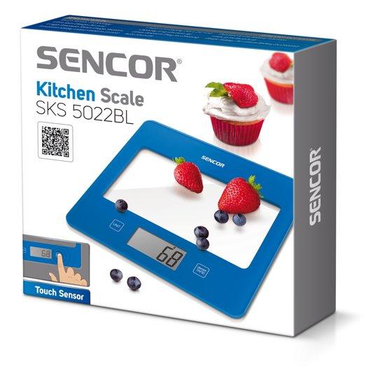 Sencor Sks5022Bl Keukenweegschaal