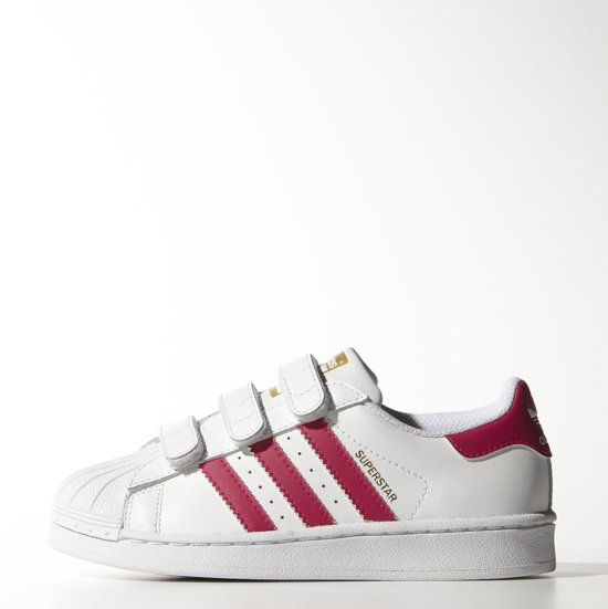 | Adidas Superstar Foundation CF C roze maat 35