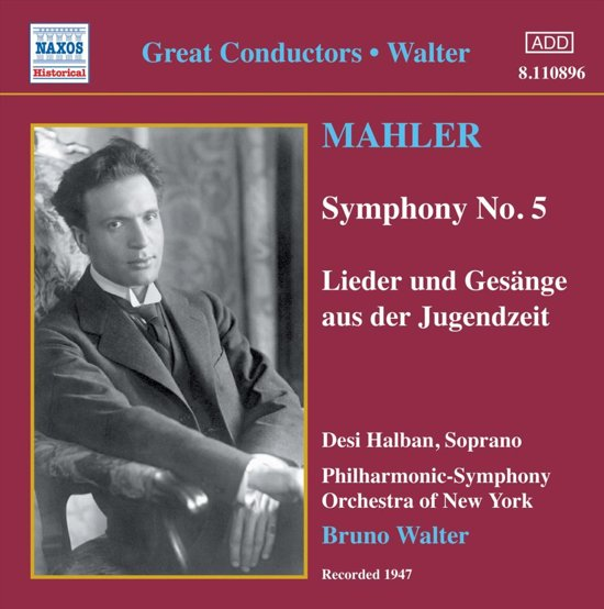 Mahler: Symphony No. 5 (Walter
