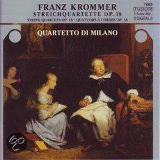 Franz Krommer: Striechquartett, Op. 18