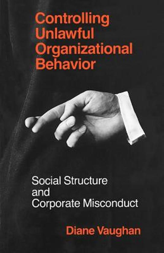 Controlling Unlawful Organizational Behaviour