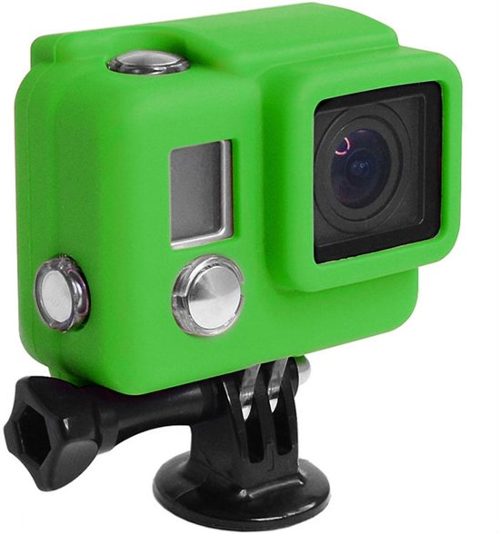 Xsories Hooded Silicone Cover voor GoPro Hero3 - Licht Groen