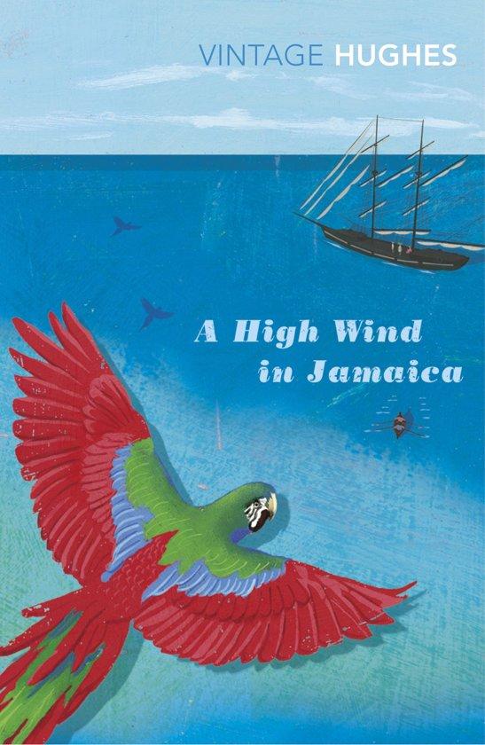 Afbeeldingsresultaat voor a high wind in jamaica boek