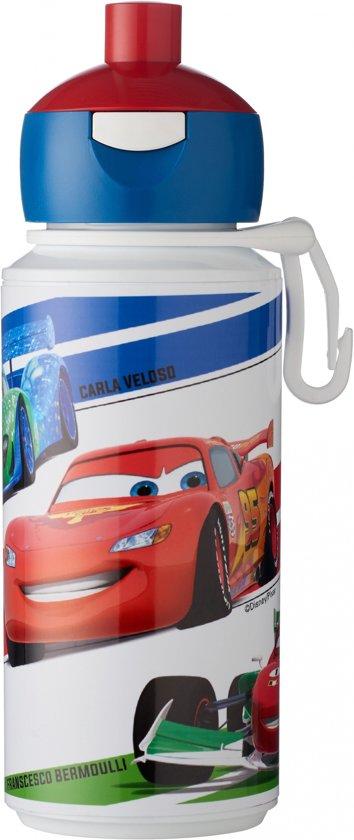 Disney 107510065353 275ml Acrylonitrielbutadieenstyreen (ABS), Thermoplastische elastomeer (TPE) Blauw, Rood drinkfles