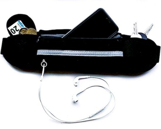 Running belt - Hardloop belt - Hardloop riem - Zwart