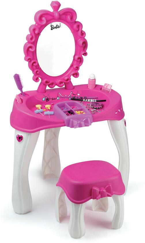Kaptafel Voor Kinderen.Bol Com Barbie Kaptafel Met Stoel Voor Kinderen 86 Cm H