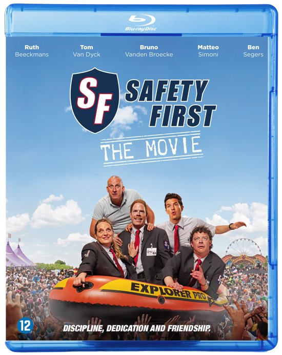 Safety First (Blu-ray)