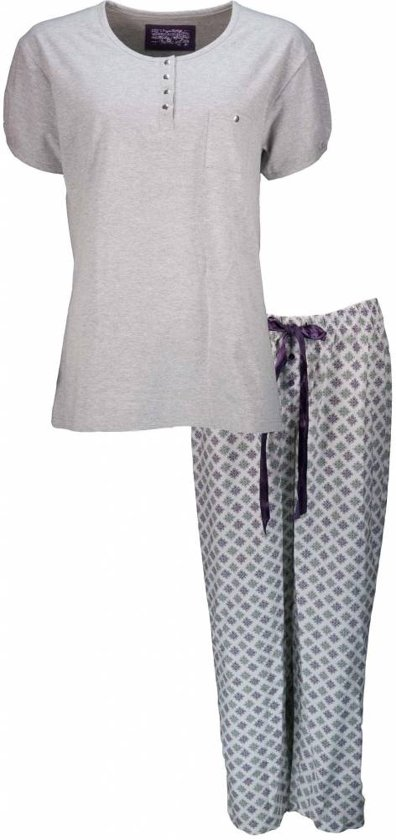 Irresistible Dames Pyjama Grijs Maten: M