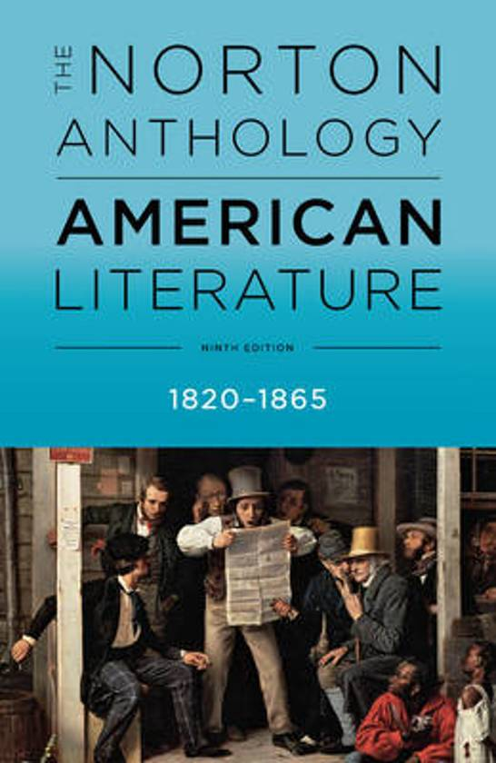notes for norton anthology of american lit Text notes: from hispaniola in spaniards take native american captives and bring this blog deals with the summaries from book the norton anthology of.
