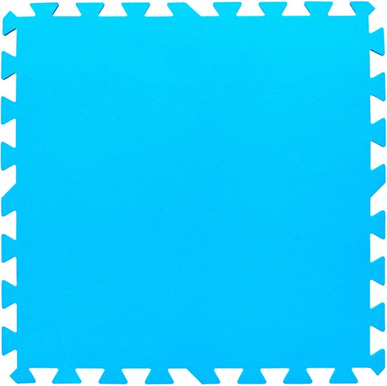 Bestway Ondertegels voor zwembad 50x50 - zwembadvloer - zwembadfolie - zwembad - tegels