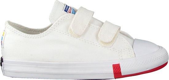 Converse Meisjes Sneakers Chuck Taylor All Star 2v Ox Ki - Wit - Maat 26