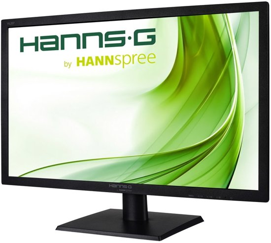Hannspree Hanns.G HL207DPB 20.7'' Full HD LED Mat Zwart computer monitor