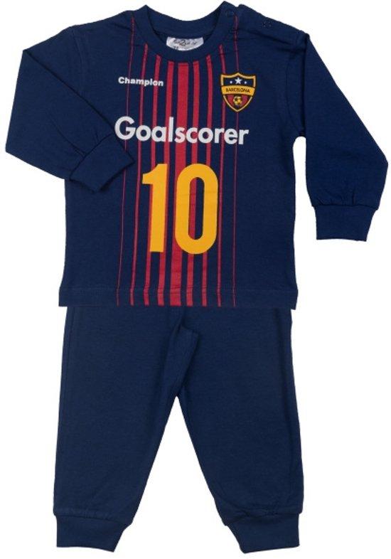 Fun2Wear Goalscorer Barcelona Pyjama - Blauw - Maat 104