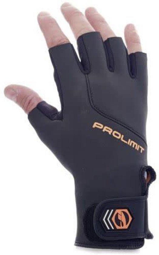 Prolimit Short Finger Utility Handschoen Zwart S