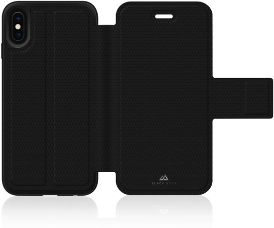 Black Rock Zwart Protective Folio iPhone X