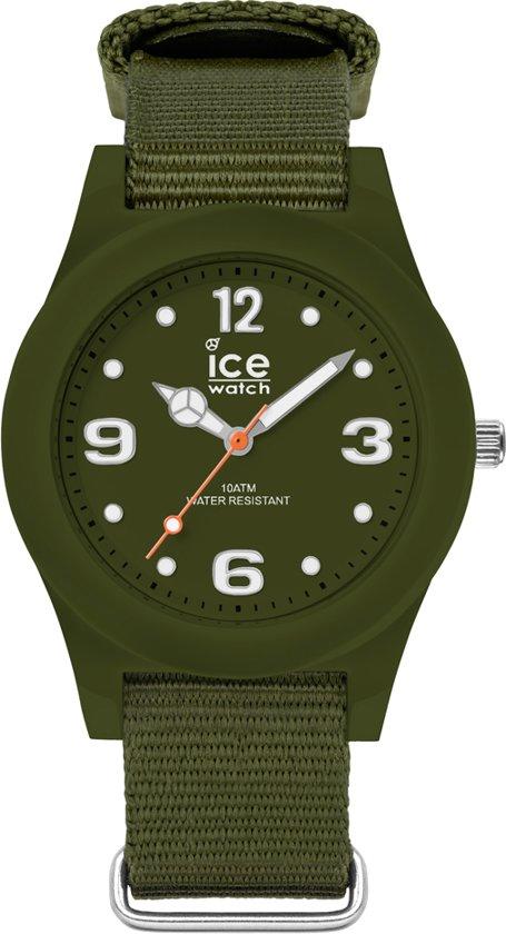 Ice-Watch ICE slim nature IW016445 horloge - Nylon - Groen - Ø 36 mm