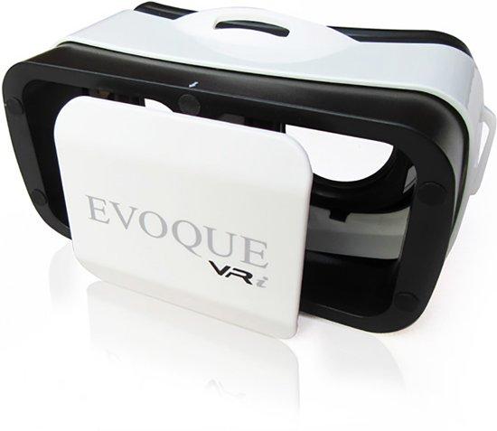 Virtual Reality bril | VR-i EVOQUE, compacte VR GEAR voor de iPhone, Samsung, Sony, Huawei, HTC, LG en Microsoft. Geleverd met NL handleiding.
