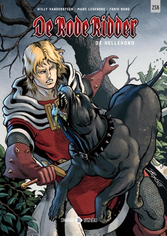 De Rode Ridder 258 - De Hellehond