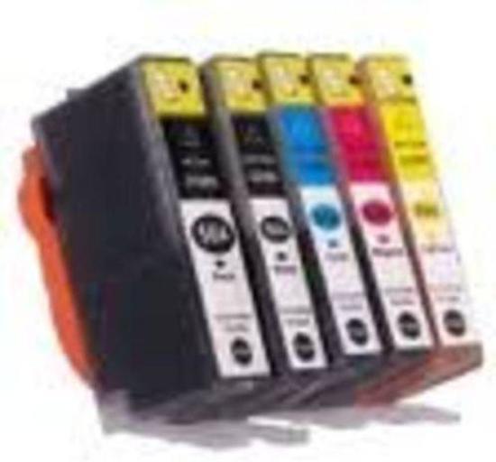 Merkloos - Inktcartridge / Alternatief voor de HP 364XL / Magenta /Cyaan / Geel