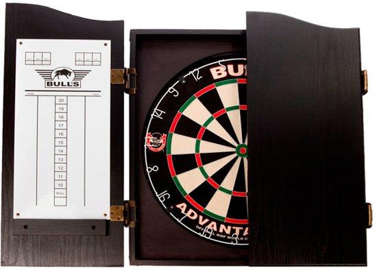 BULL'S cabinet - deluxe wood - zwart