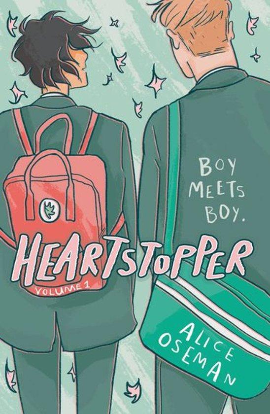 Boek cover Heartstopper Volume One van Alice Oseman (Onbekend)