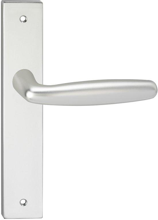 Impresso Cambridge Deurbeslag - Voor binnen - Vierkant deurschild met schroeven - Aluminium