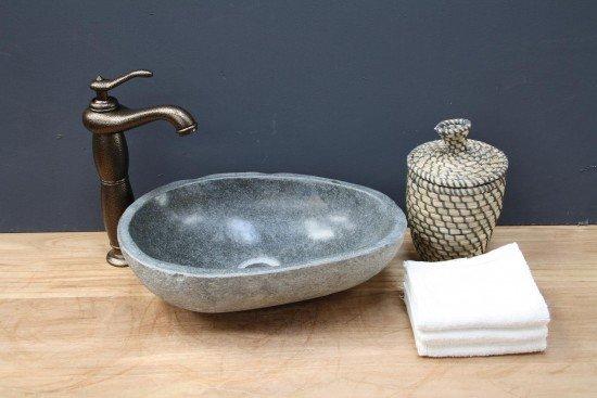 Kleine Waskom Toilet : Bol rivierstenen waskom