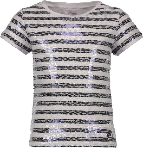 Le Chic Meisjes T-shirt - white - Maat 128