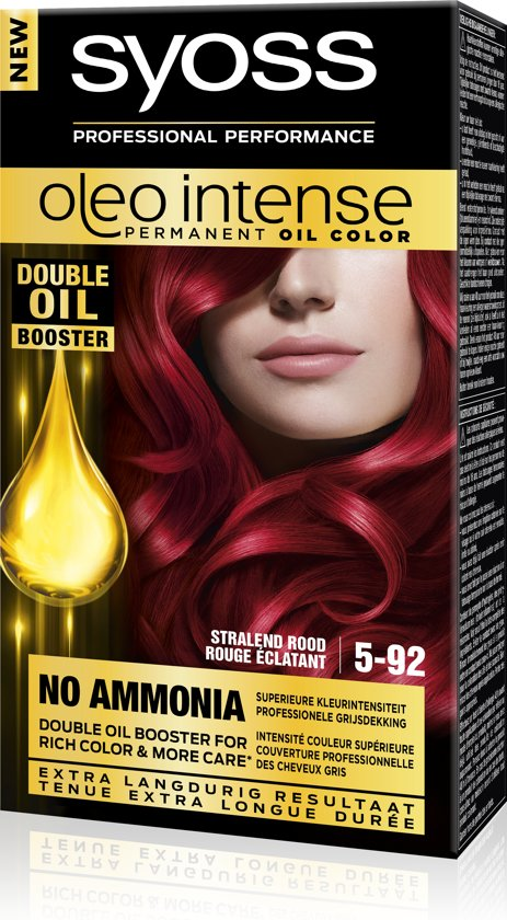 SYOSS Color Oleo Intense 5-92 Stralend Rood Haarverf - 1 stuk